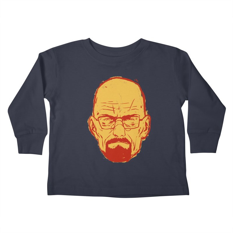 Heinsenberg Kids Toddler Longsleeve T-Shirt by hafaell's Artist Shop
