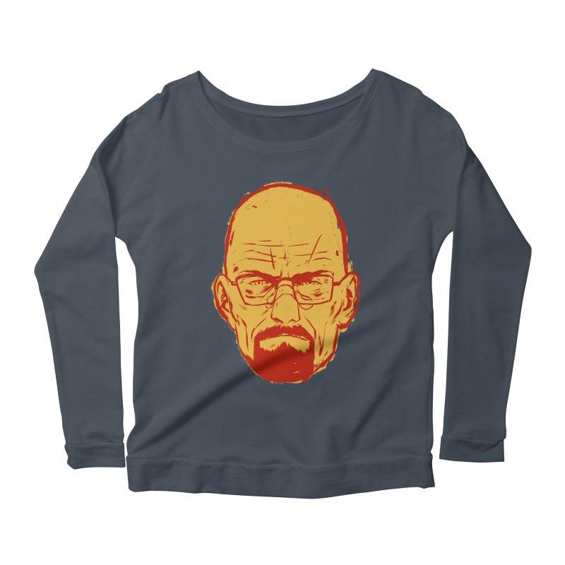 Heinsenberg Women's Scoop Neck Longsleeve T-Shirt by hafaell's Artist Shop