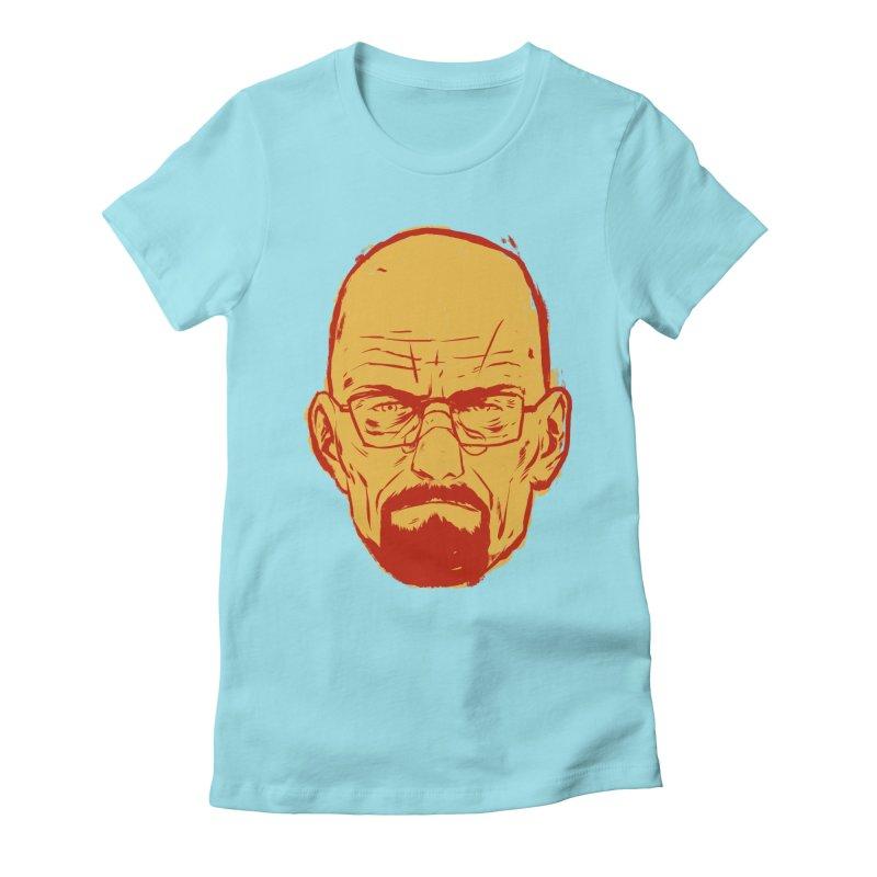 Heinsenberg Women's Fitted T-Shirt by hafaell's Artist Shop