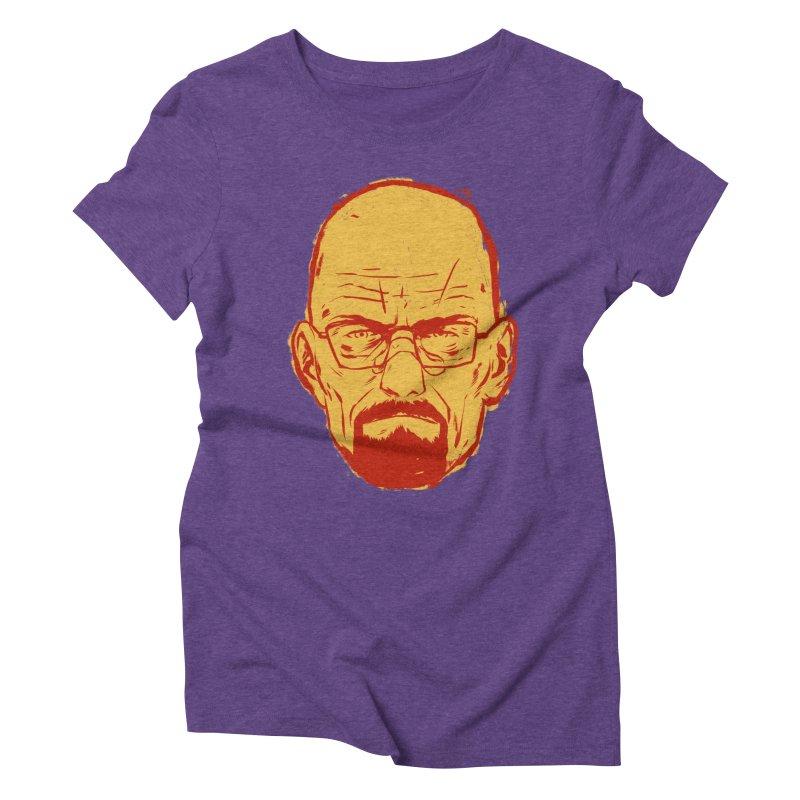 Heinsenberg Women's Triblend T-Shirt by hafaell's Artist Shop