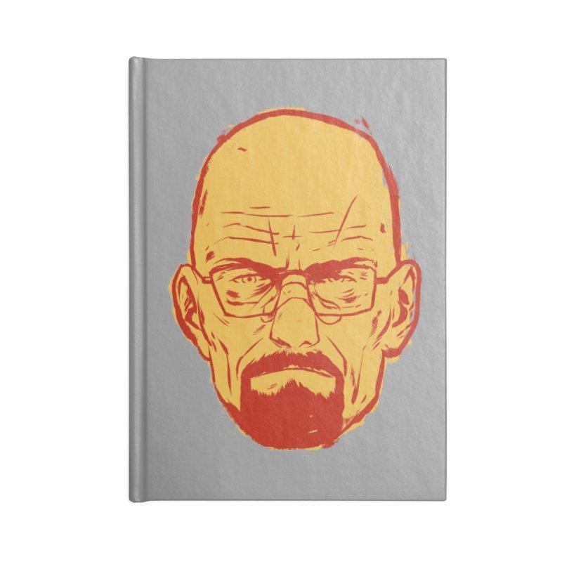 Heinsenberg Accessories Blank Journal Notebook by hafaell's Artist Shop