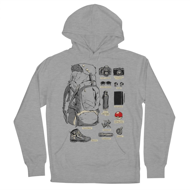 The Explorer Kit Women's French Terry Pullover Hoody by hafaell's Artist Shop
