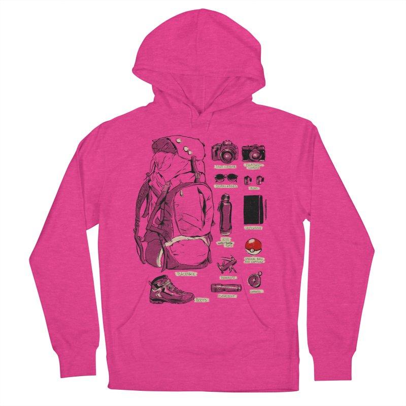 The Explorer Kit Women's Pullover Hoody by hafaell's Artist Shop