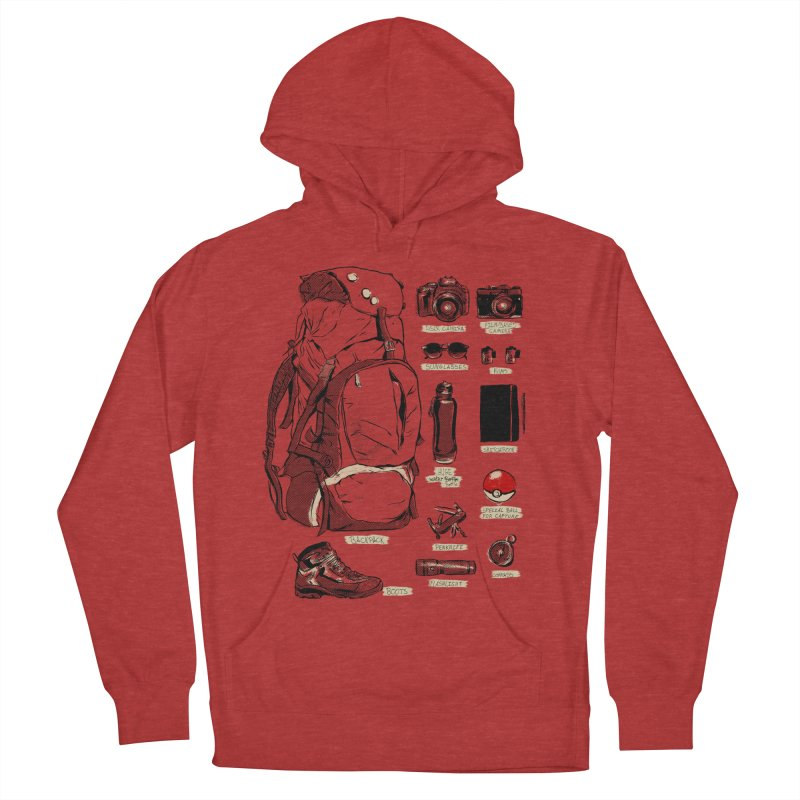 The Explorer Kit Men's Pullover Hoody by hafaell's Artist Shop