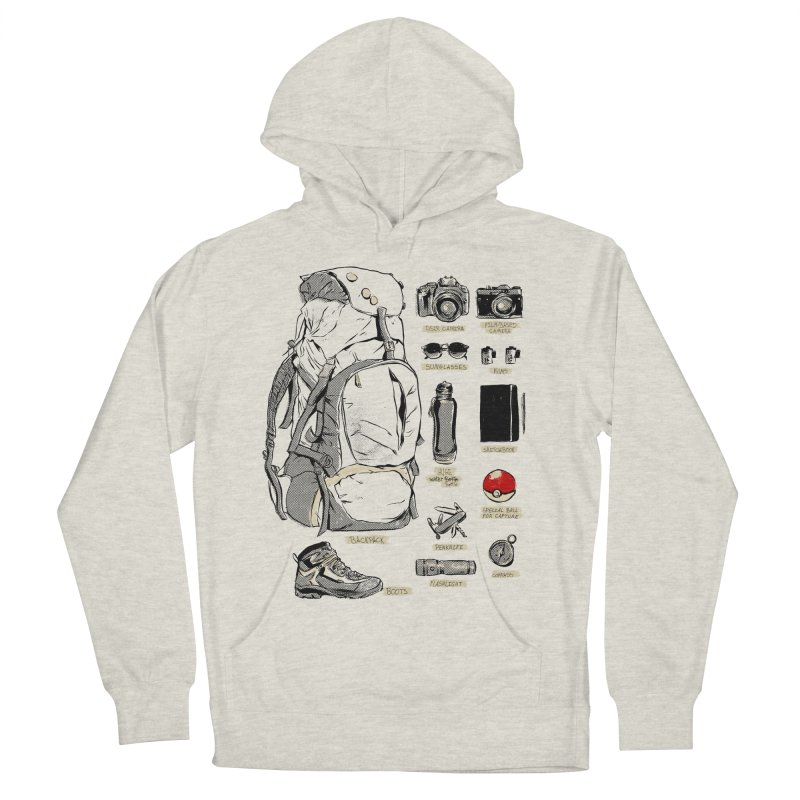 The Explorer Kit Men's French Terry Pullover Hoody by hafaell's Artist Shop