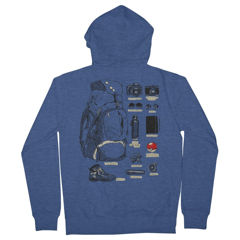 The Explorer Kit Women's Zip-Up Hoody by hafaell's Artist Shop