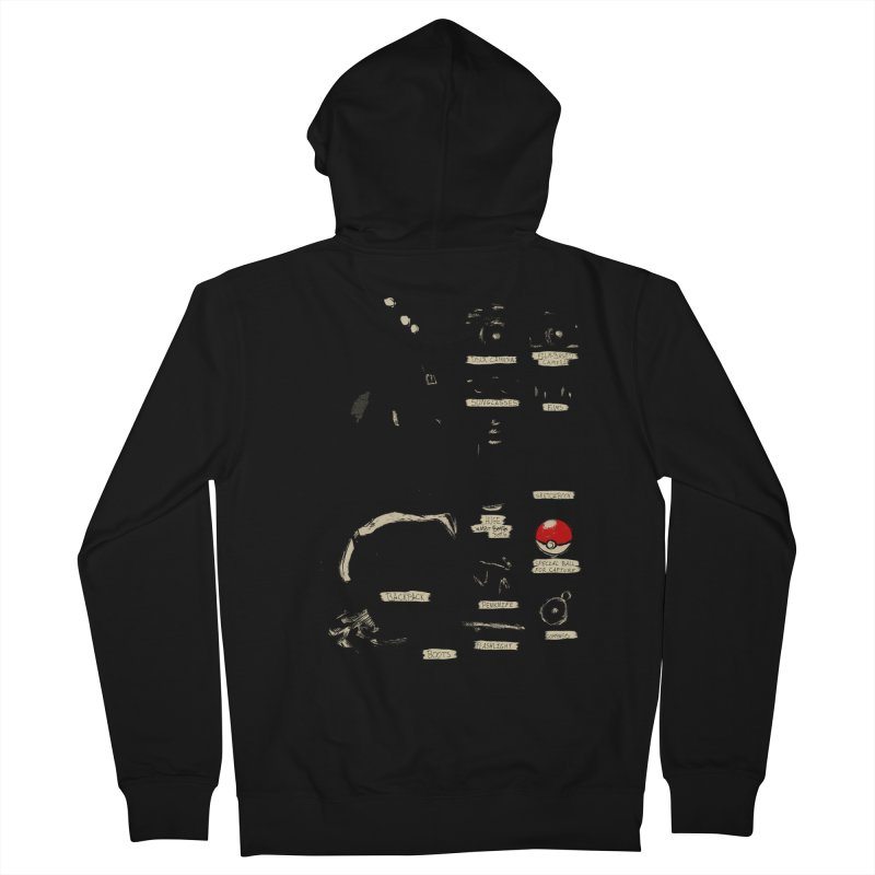 The Explorer Kit Women's French Terry Zip-Up Hoody by hafaell's Artist Shop