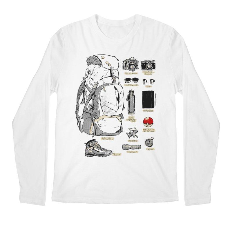 The Explorer Kit Men's Regular Longsleeve T-Shirt by hafaell's Artist Shop