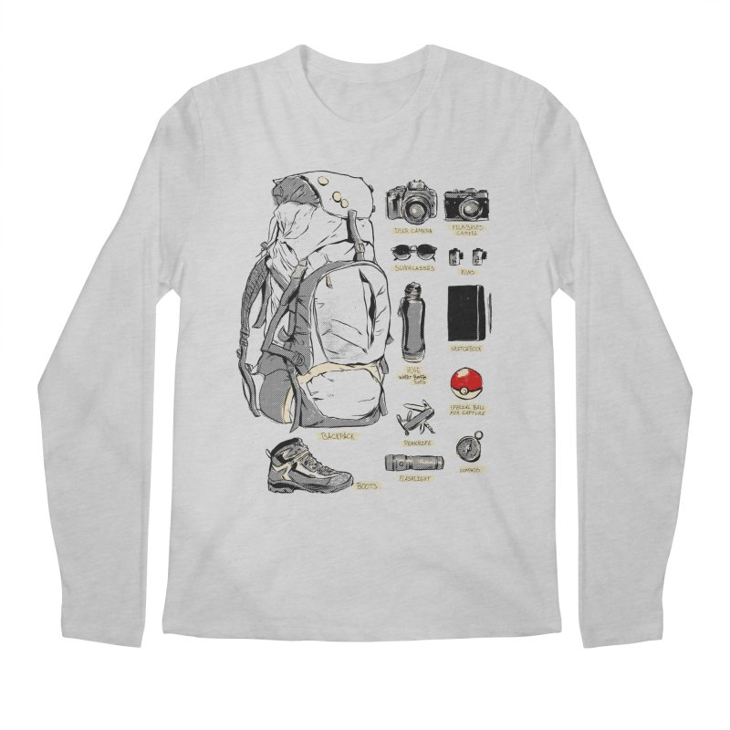 The Explorer Kit Men's Regular Longsleeve T-Shirt by hafaell's Artist Shop