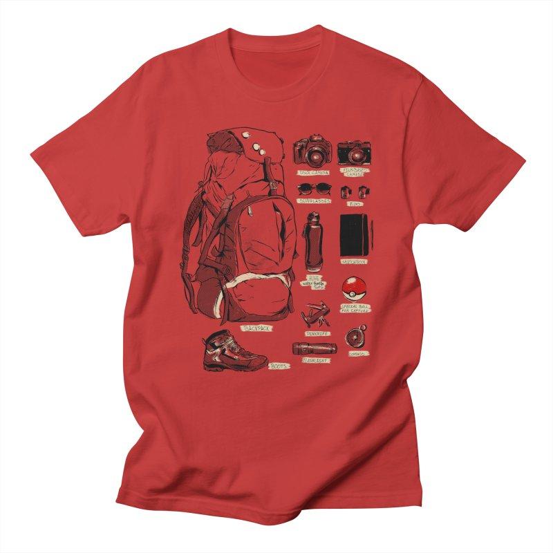 The Explorer Kit Men's Regular T-Shirt by hafaell's Artist Shop