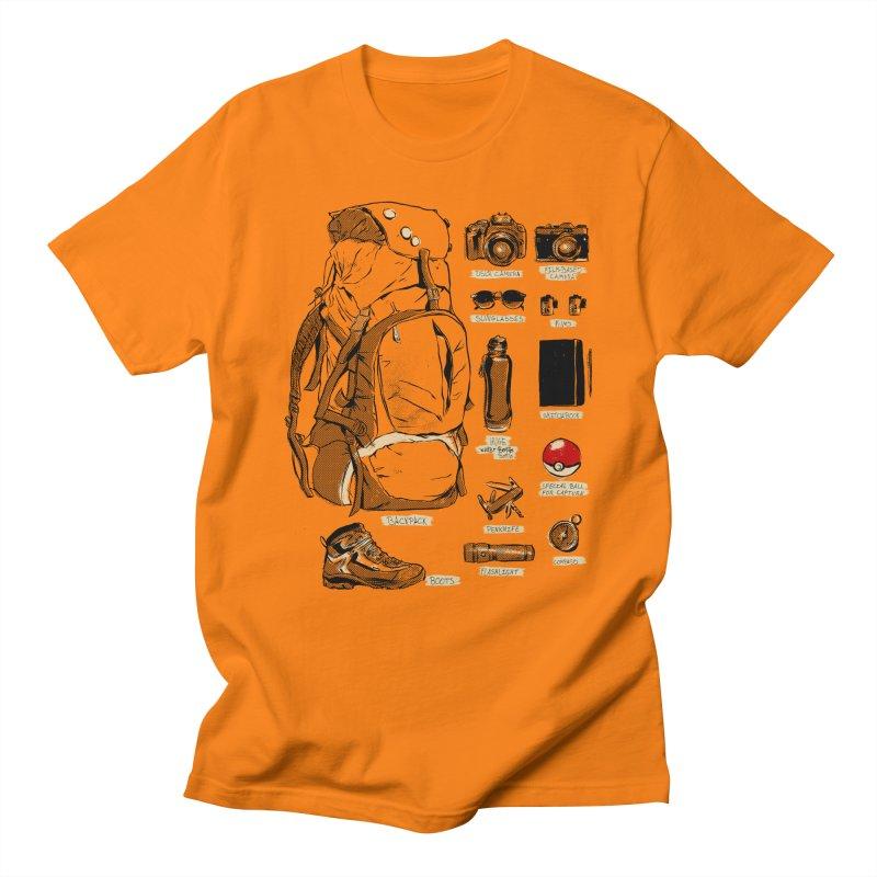 The Explorer Kit Men's T-Shirt by hafaell's Artist Shop