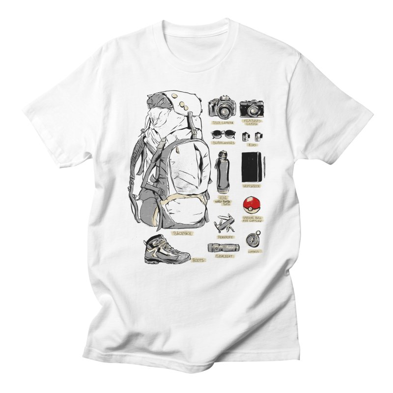 The Explorer Kit Men's T-shirt by hafaell's Artist Shop