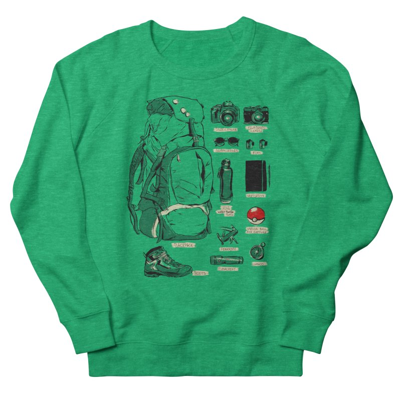 The Explorer Kit Women's Sweatshirt by hafaell's Artist Shop