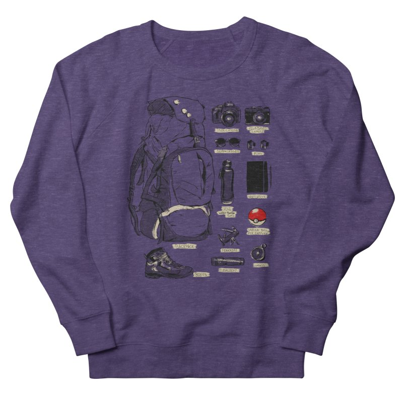 The Explorer Kit Women's French Terry Sweatshirt by hafaell's Artist Shop
