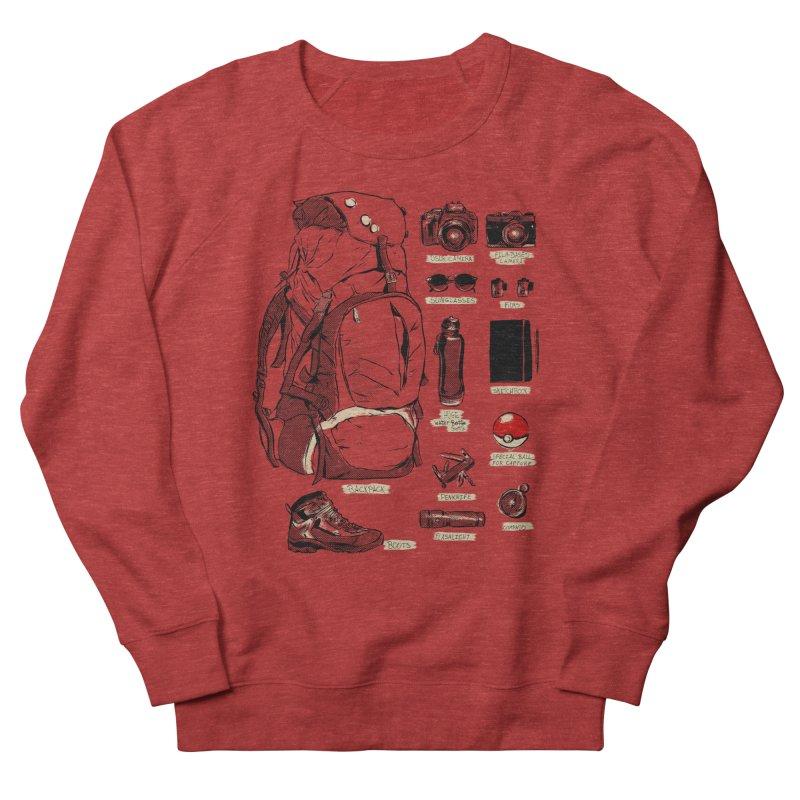 The Explorer Kit Men's Sweatshirt by hafaell's Artist Shop