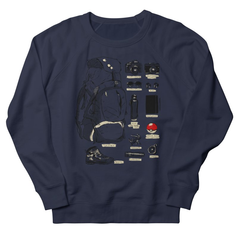 The Explorer Kit Men's Sweatshirt by hafaell's Artist Shop