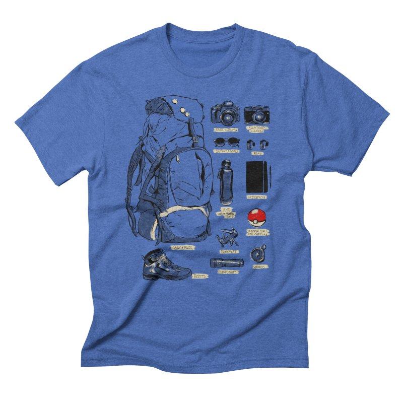 The Explorer Kit Men's Triblend T-Shirt by hafaell's Artist Shop