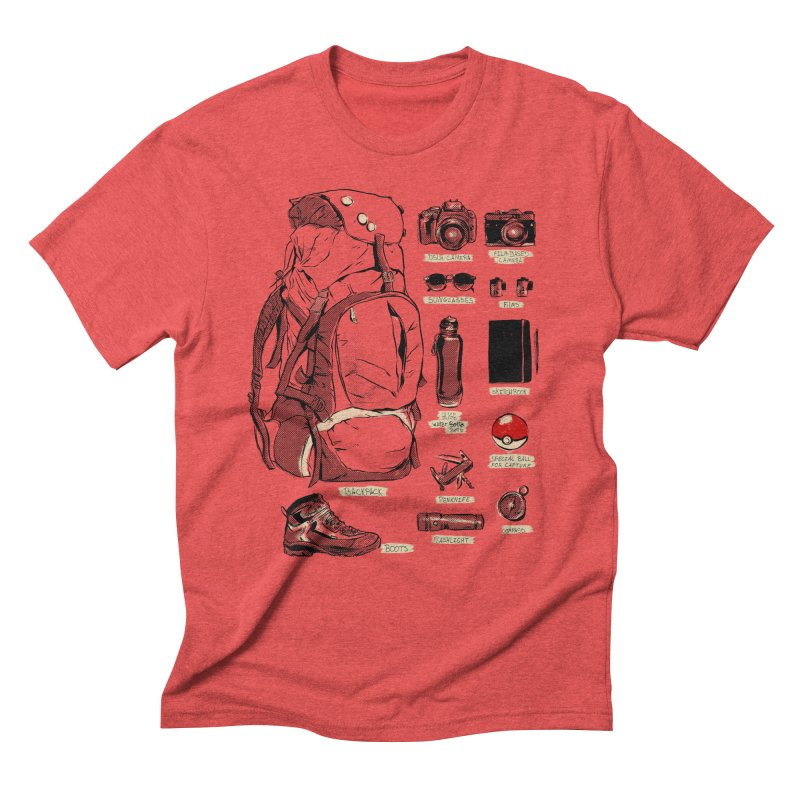 The Explorer Kit Men's Triblend T-Shirt by hafaell's Artist Shop