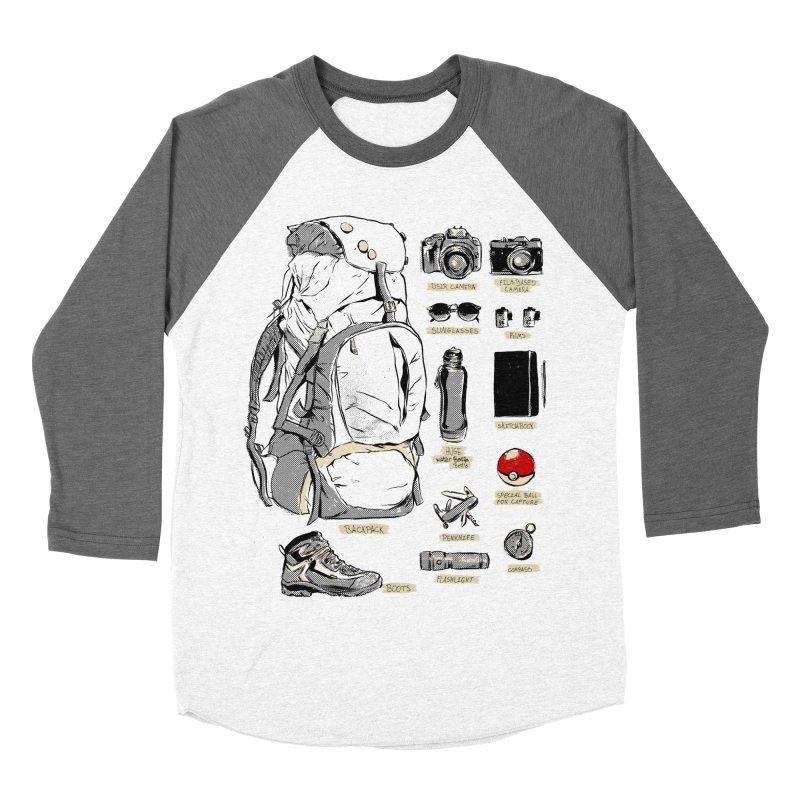 The Explorer Kit Women's Baseball Triblend T-Shirt by hafaell's Artist Shop