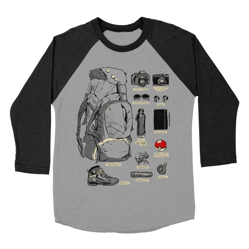 The Explorer Kit Women's Baseball Triblend Longsleeve T-Shirt by hafaell's Artist Shop