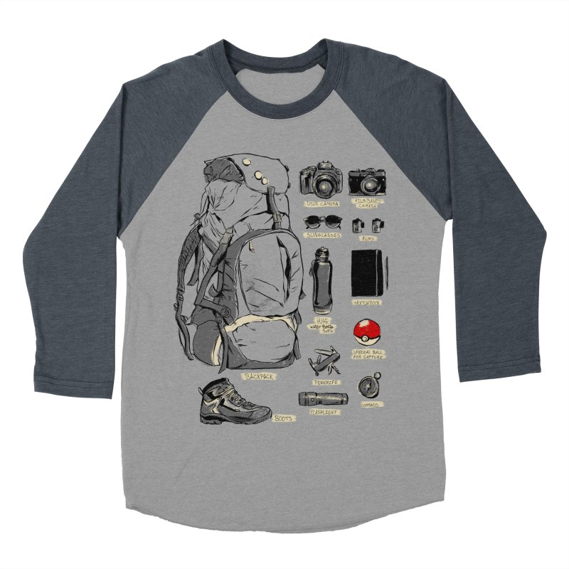 The Explorer Kit Women's Baseball Triblend Longsleeve T-Shirt by hafaell's Artist Shop