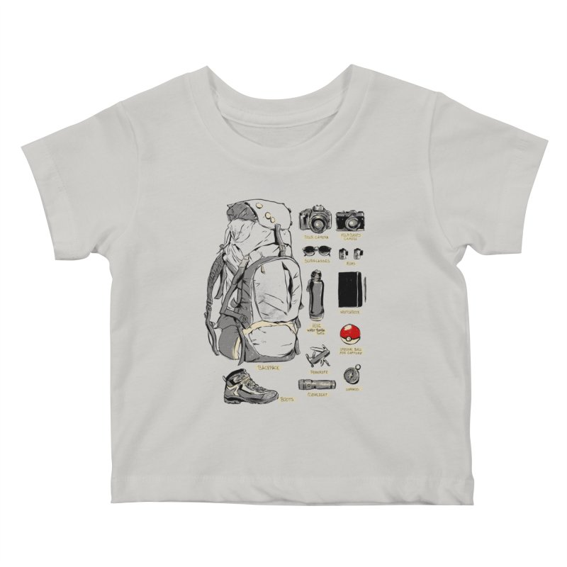 The Explorer Kit Kids Baby T-Shirt by hafaell's Artist Shop