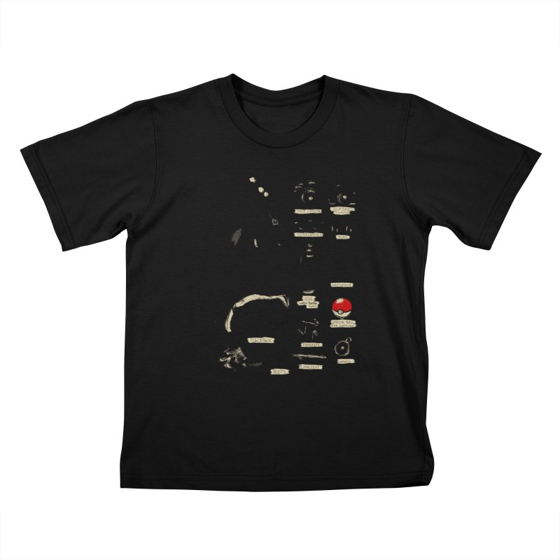 The Explorer Kit Kids T-Shirt by hafaell's Artist Shop