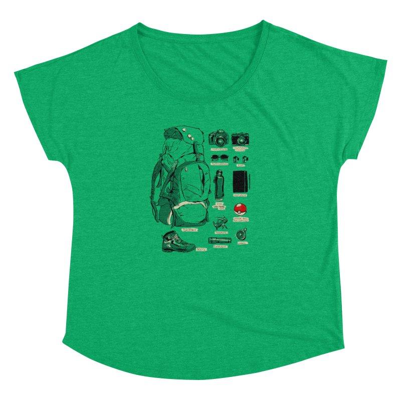 The Explorer Kit Women's Dolman by hafaell's Artist Shop