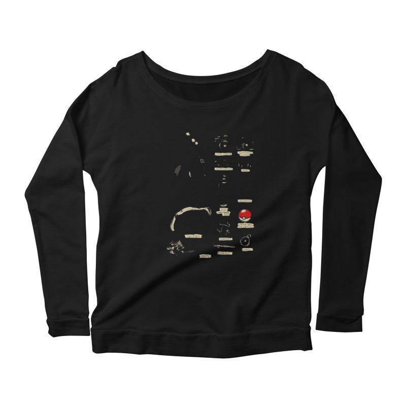 The Explorer Kit Women's Scoop Neck Longsleeve T-Shirt by hafaell's Artist Shop