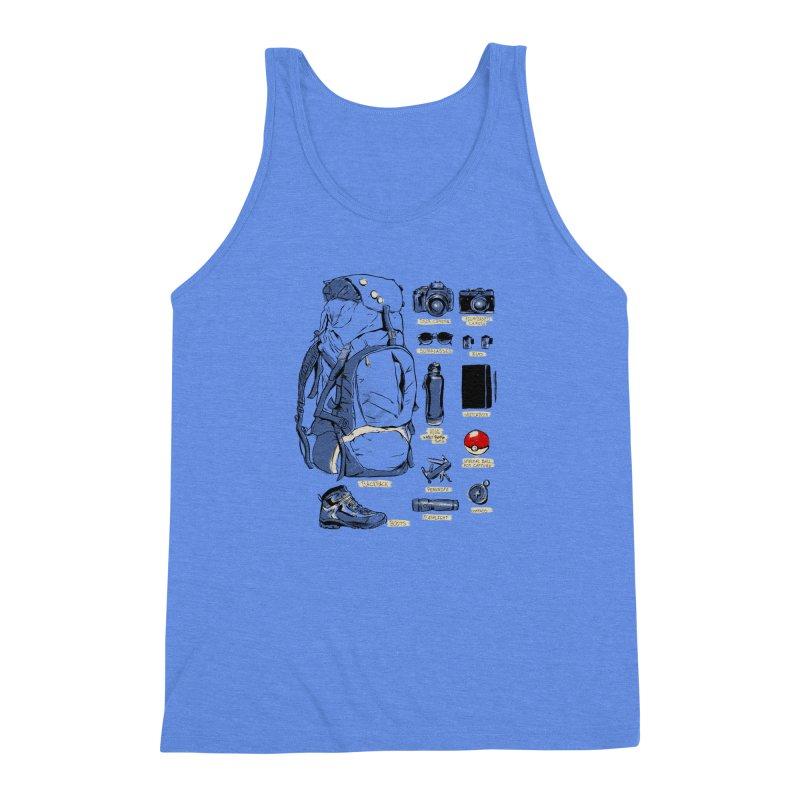 The Explorer Kit Men's Triblend Tank by hafaell's Artist Shop
