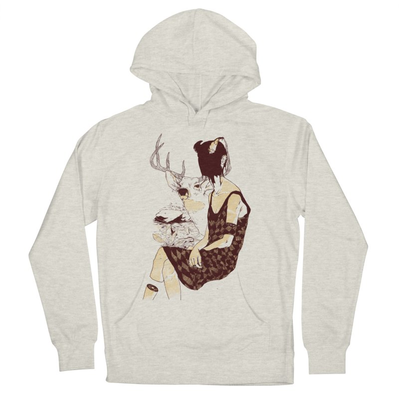 Fragmented Beauty Men's Pullover Hoody by hafaell's Artist Shop