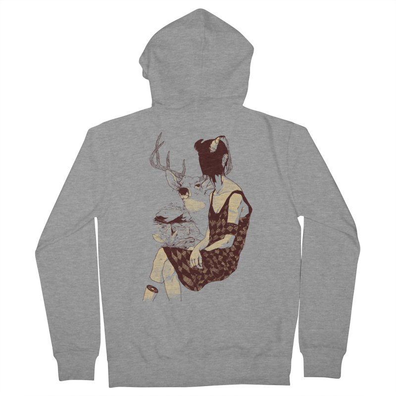 Fragmented Beauty Women's Zip-Up Hoody by hafaell's Artist Shop