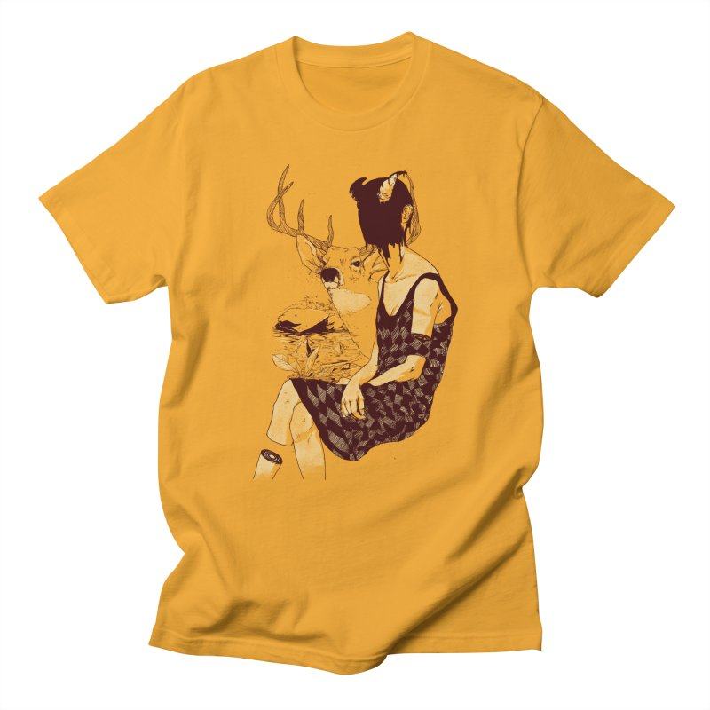 Fragmented Beauty Men's T-shirt by hafaell's Artist Shop