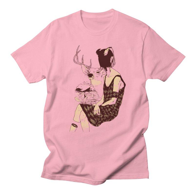 Fragmented Beauty Men's Regular T-Shirt by hafaell's Artist Shop