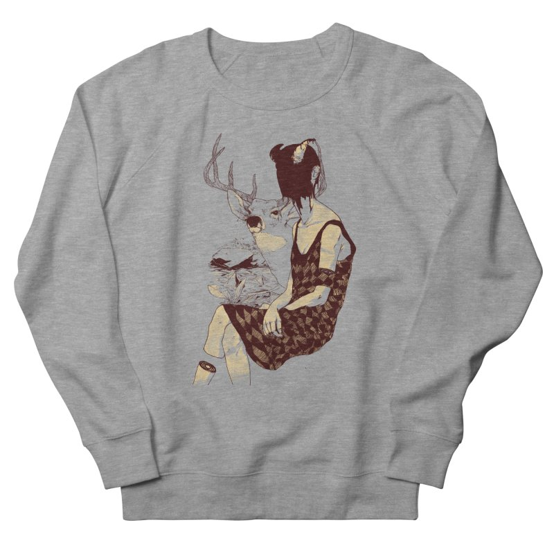 Fragmented Beauty Women's French Terry Sweatshirt by hafaell's Artist Shop