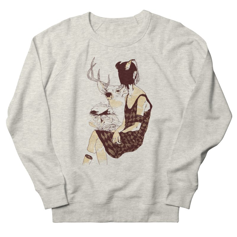 Fragmented Beauty Men's French Terry Sweatshirt by hafaell's Artist Shop