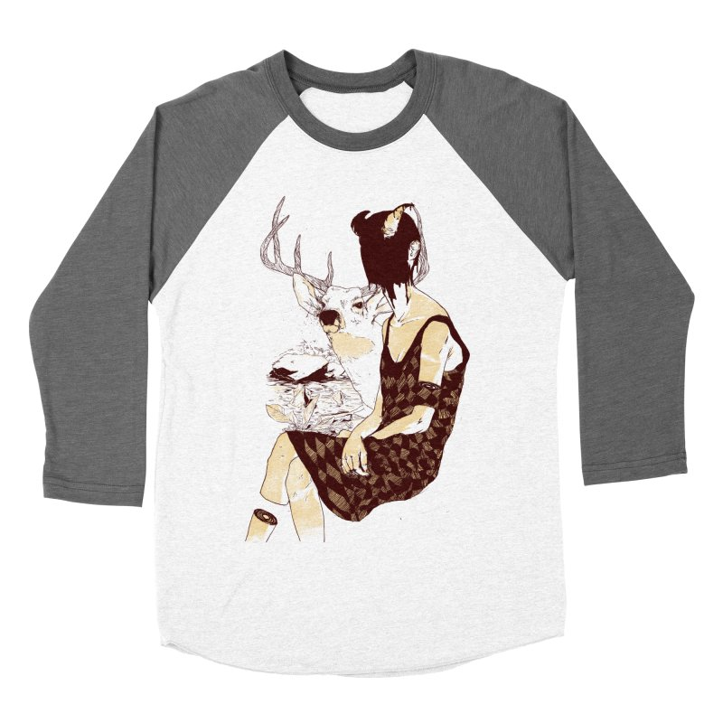 Fragmented Beauty Women's Baseball Triblend Longsleeve T-Shirt by hafaell's Artist Shop