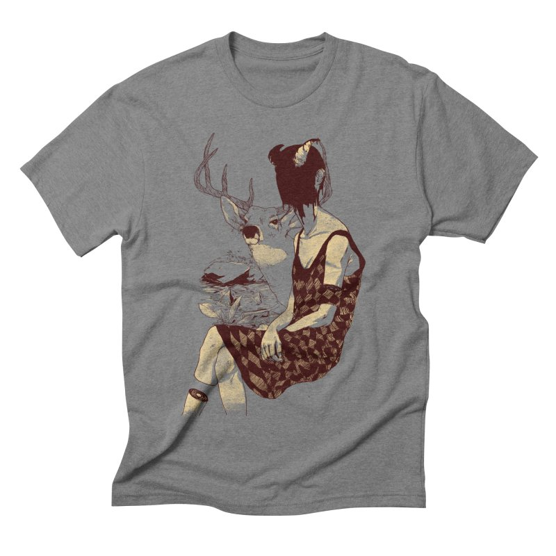 Fragmented Beauty Men's Triblend T-shirt by hafaell's Artist Shop