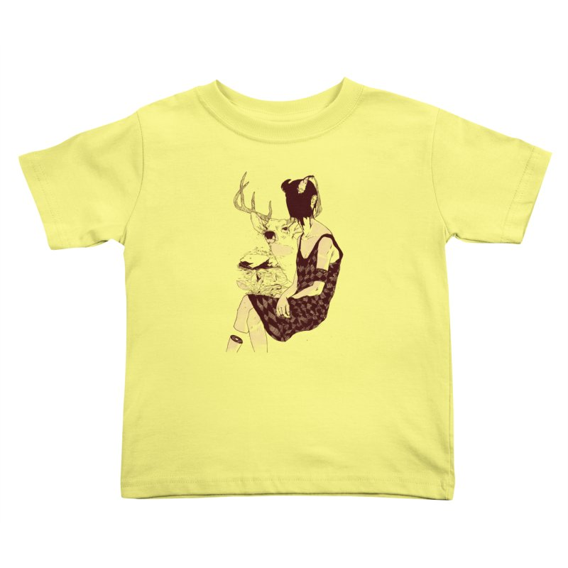Fragmented Beauty Kids Toddler T-Shirt by hafaell's Artist Shop