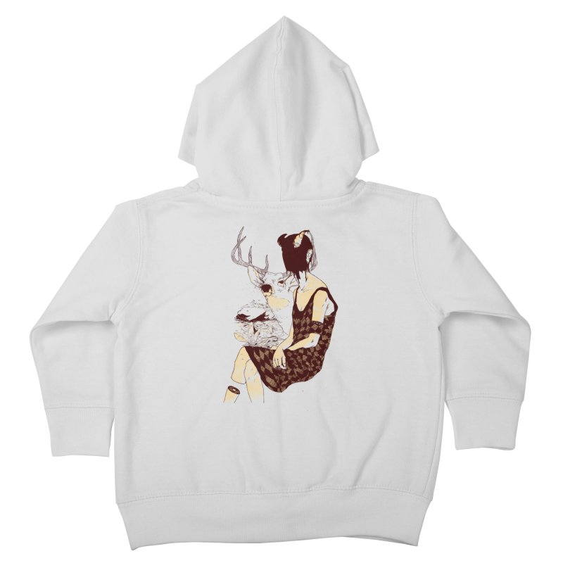 Fragmented Beauty Kids Toddler Zip-Up Hoody by hafaell's Artist Shop