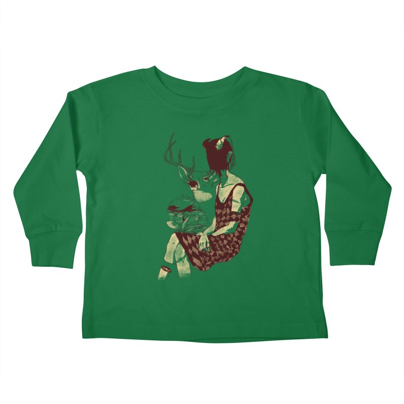 Fragmented Beauty Kids Toddler Longsleeve T-Shirt by hafaell's Artist Shop
