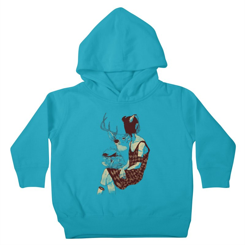 Fragmented Beauty Kids Toddler Pullover Hoody by hafaell's Artist Shop