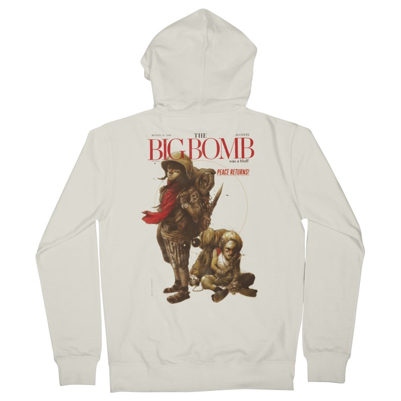 Newborn Army Men's Zip-Up Hoody by hafaell's Artist Shop