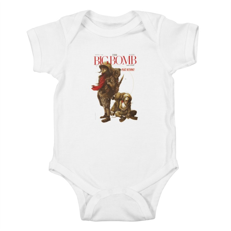 Newborn Army Kids Baby Bodysuit by hafaell's Artist Shop