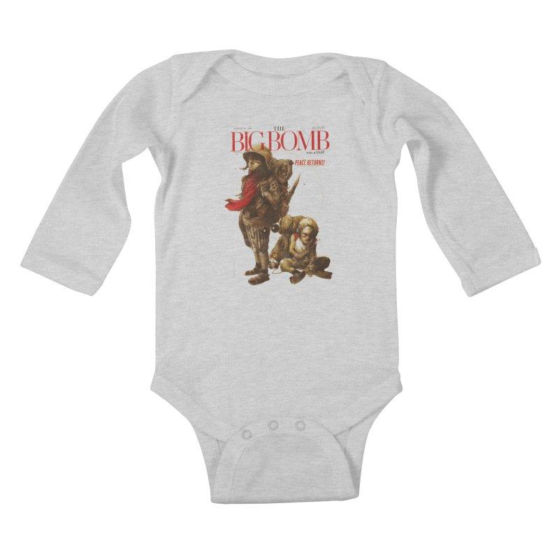 Newborn Army Kids Baby Longsleeve Bodysuit by hafaell's Artist Shop