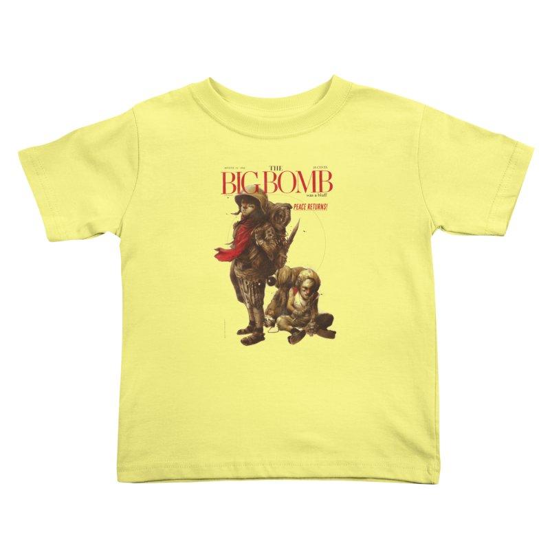 Newborn Army Kids Toddler T-Shirt by hafaell's Artist Shop
