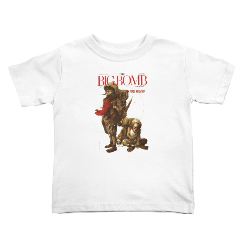 Newborn Army Kids Toddler T-Shirt by hafaell's Artist Shop