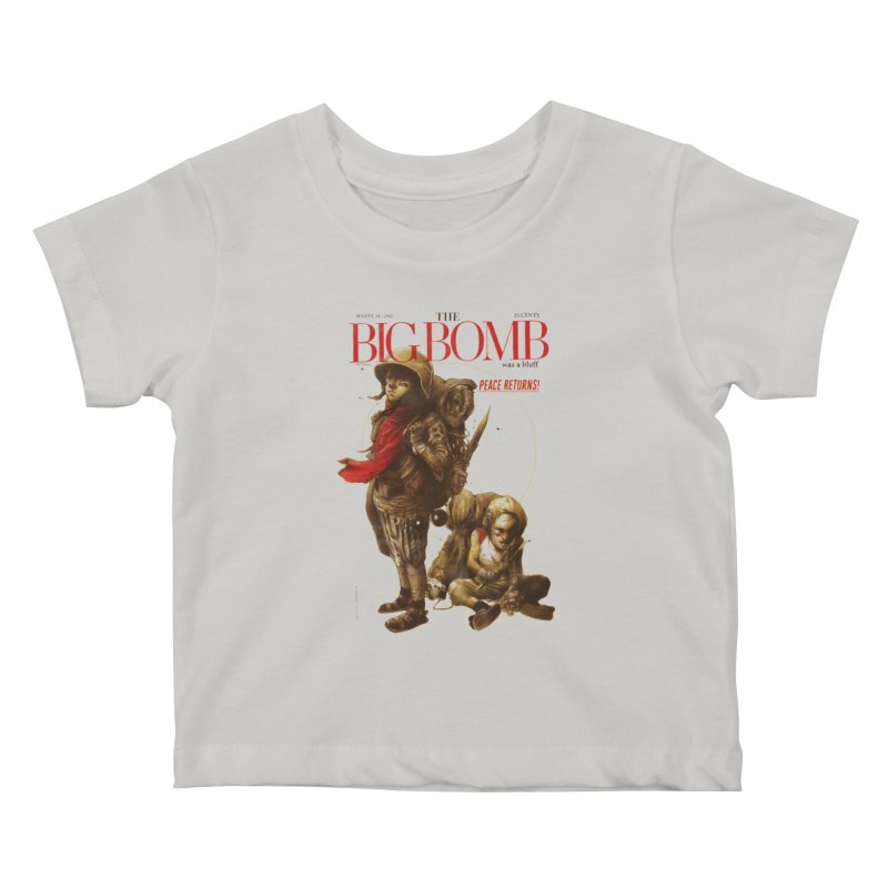 Newborn Army Kids Baby T-Shirt by hafaell's Artist Shop