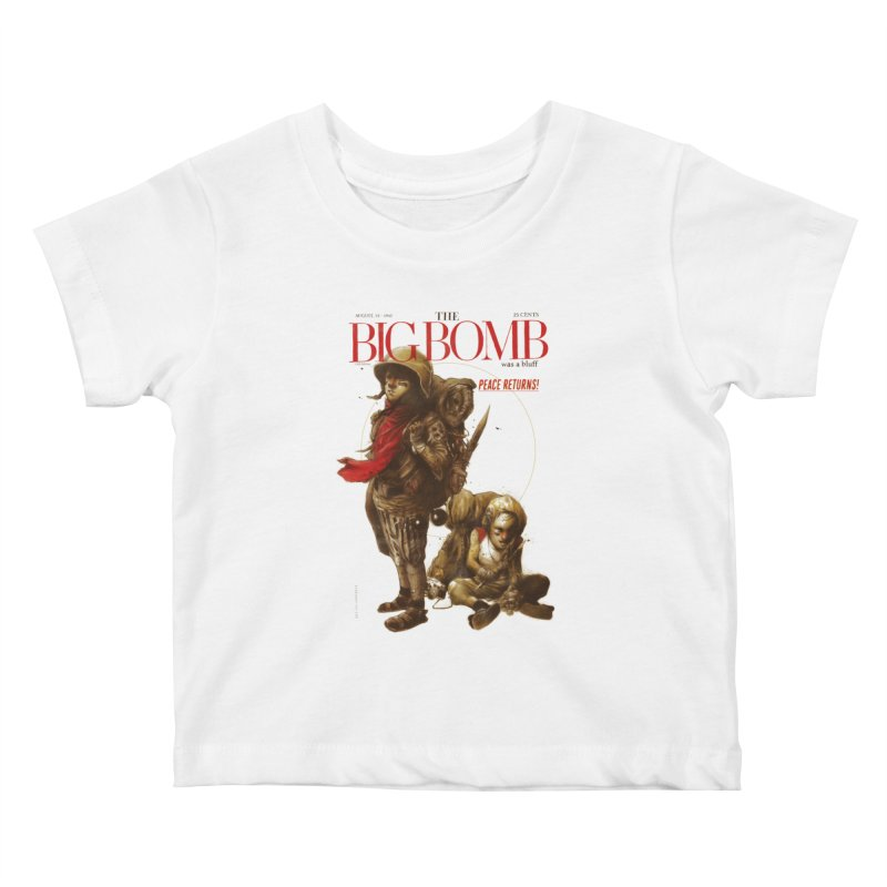 Newborn Army Kids Baby T-Shirt by hafaell's Artist Shop
