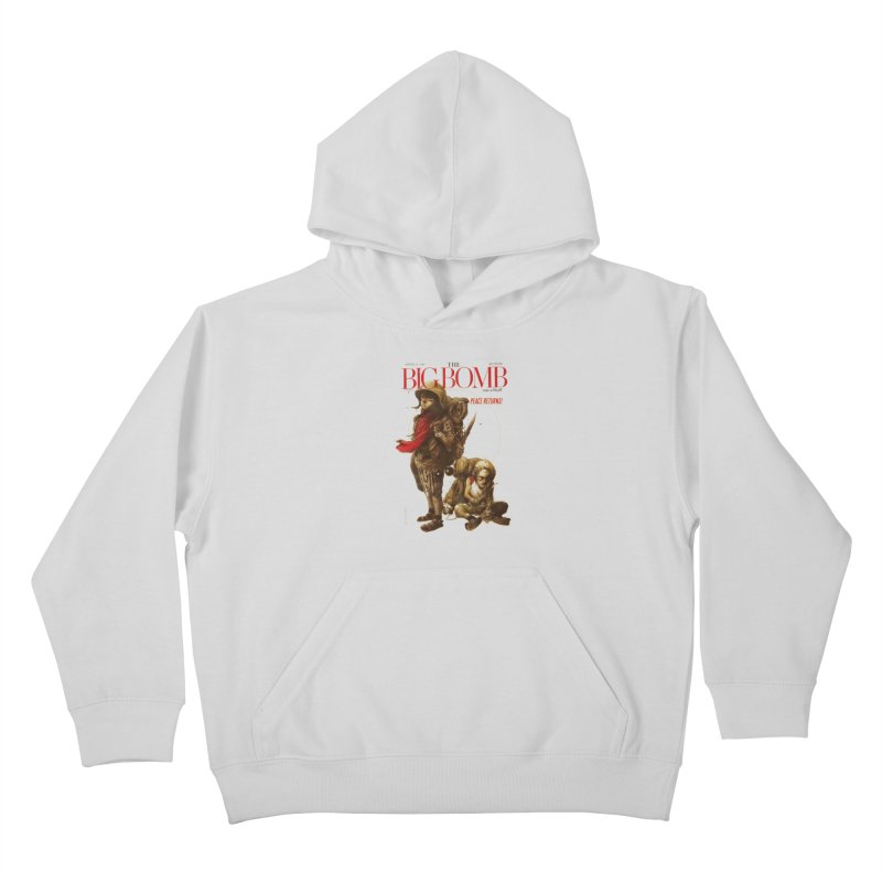 Newborn Army Kids Pullover Hoody by hafaell's Artist Shop
